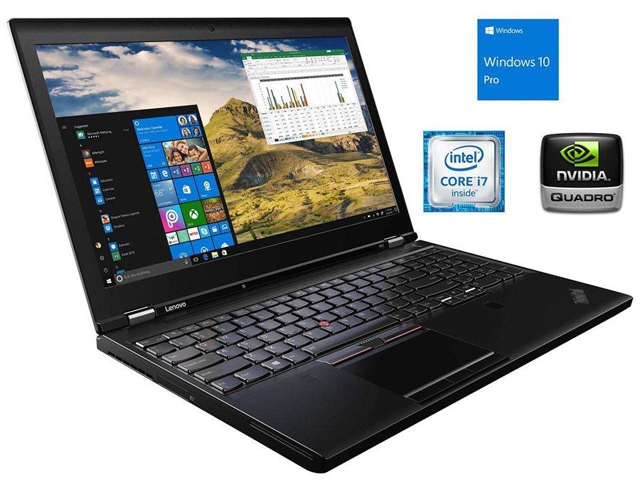 LENOVO THINKPAD P50 Core i7-6820HQ | 15.5-Inch 16 GB Ram