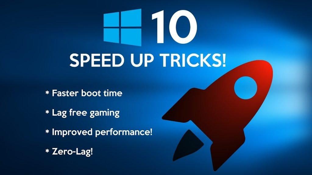 10 طرق تساعدك على تسريع ويندوز 10