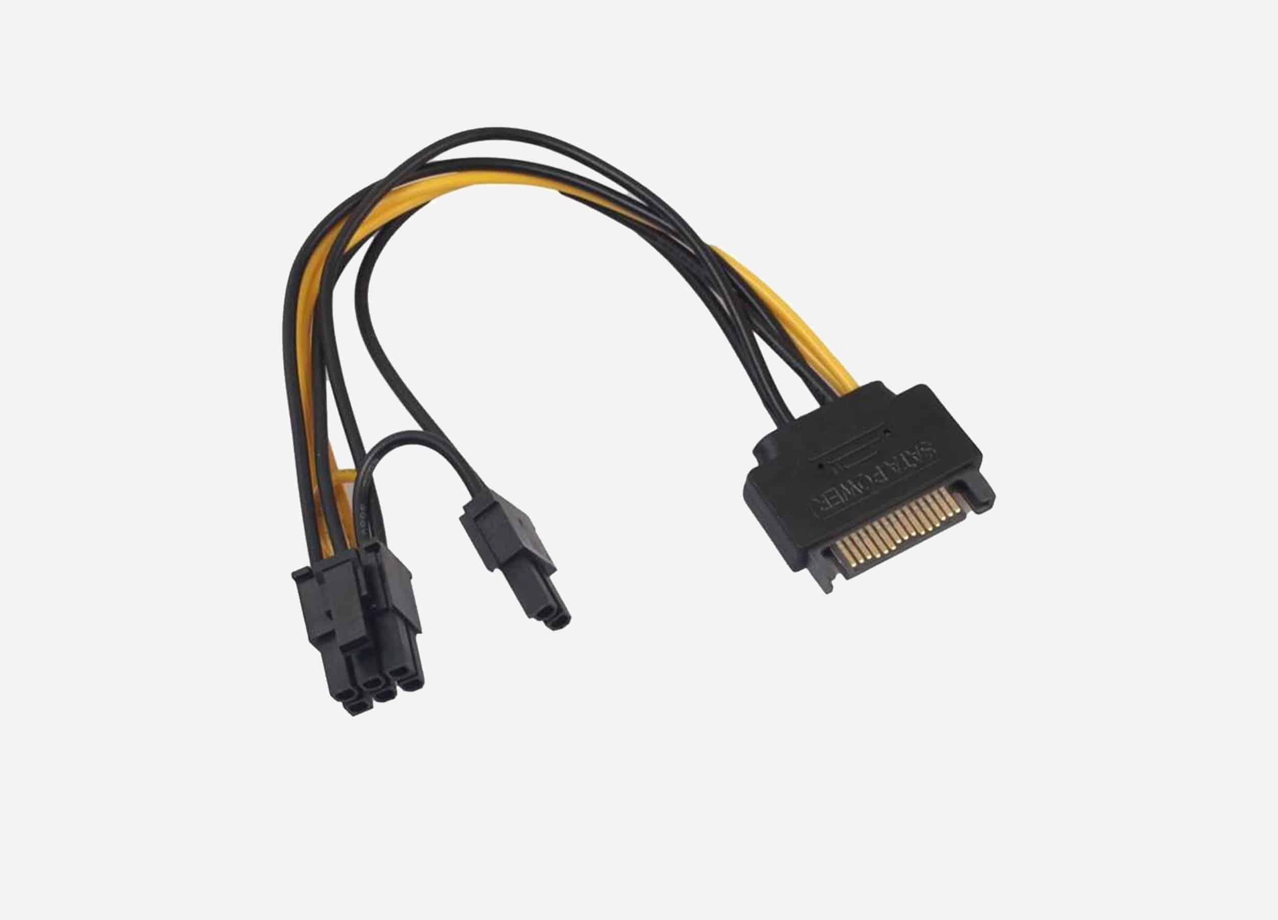Convert SATA Power 8 pin