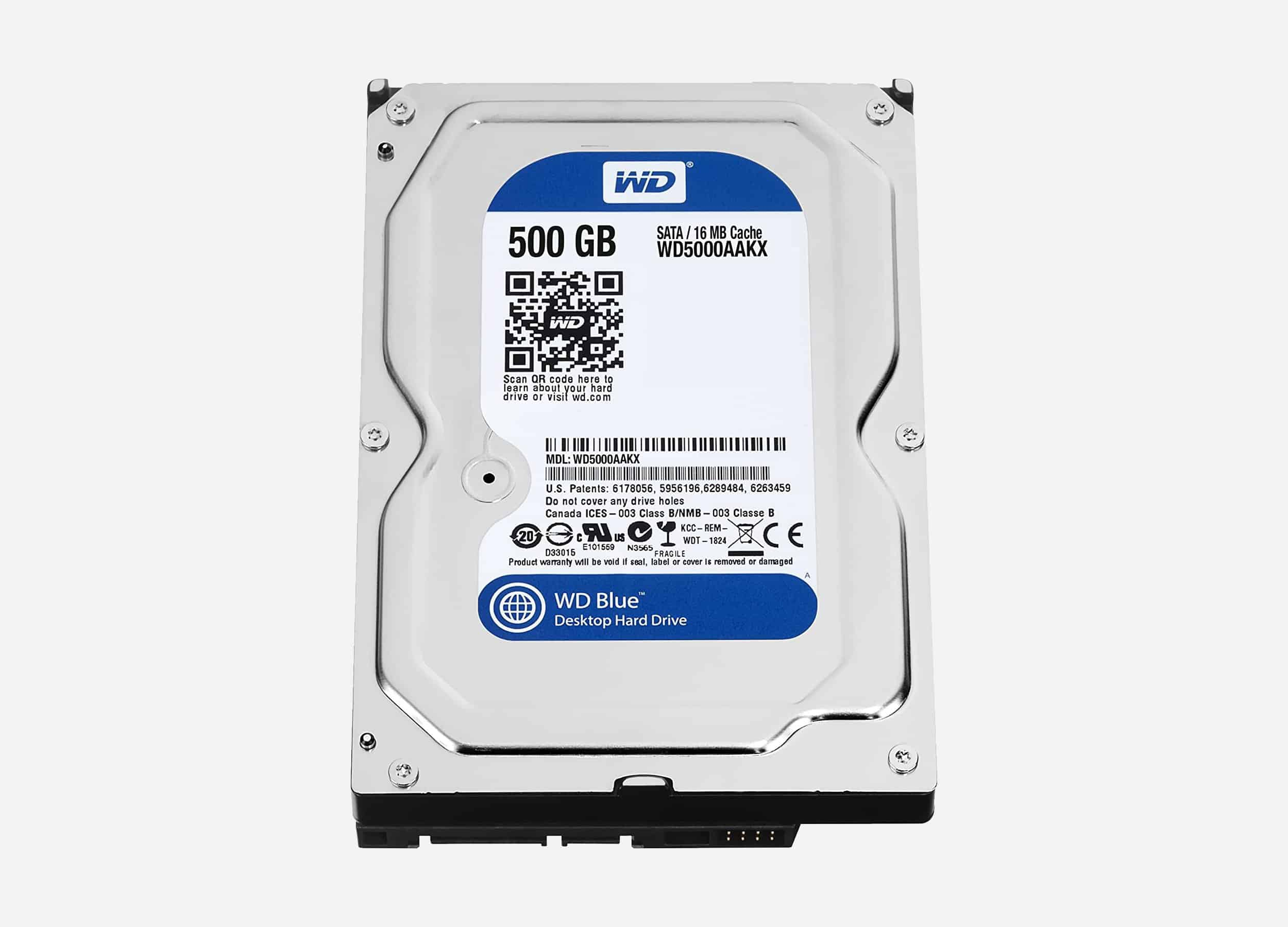 HDD W.D 500GB PC