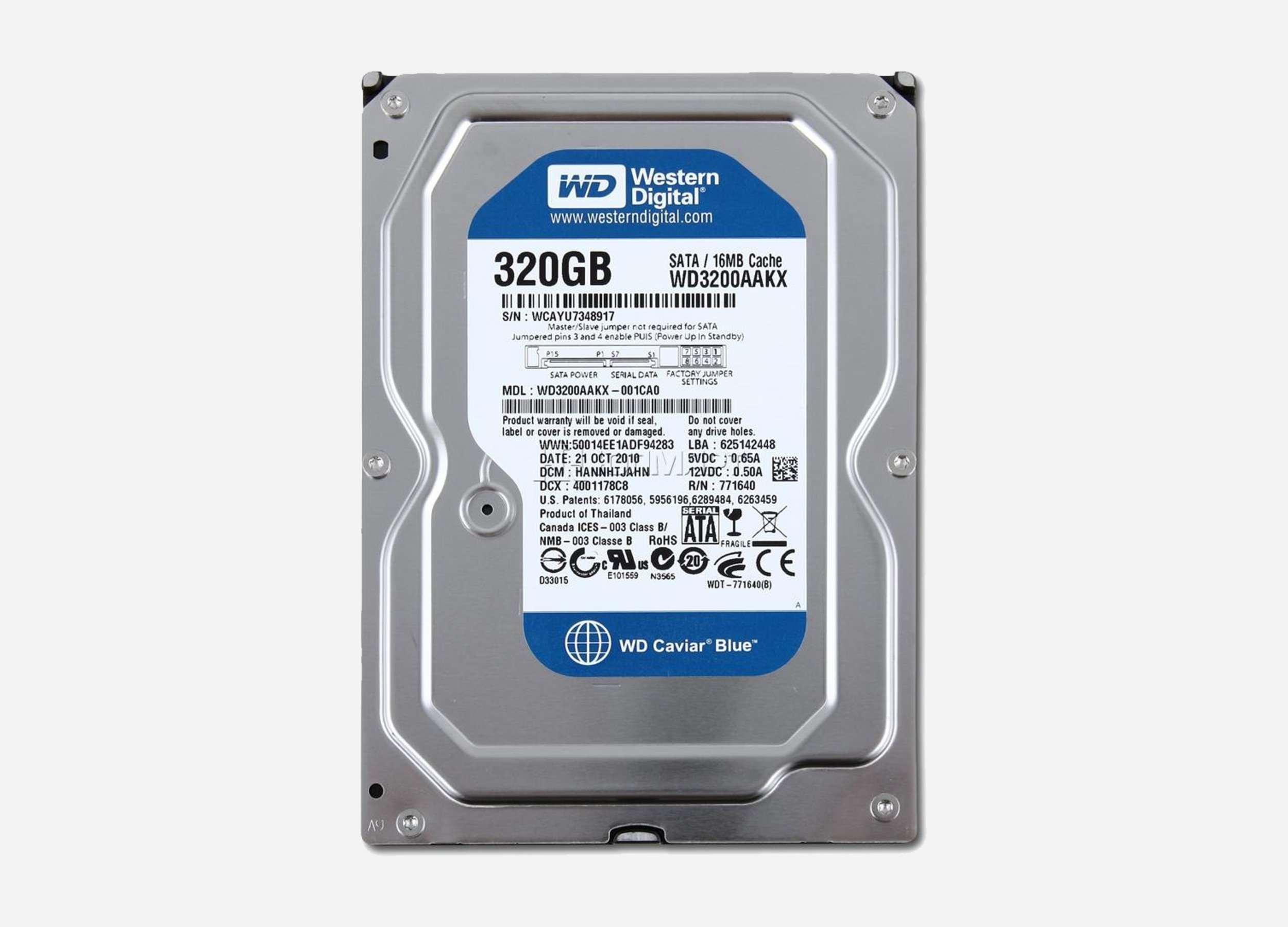 WD Blue WD3200AAKX Hdd