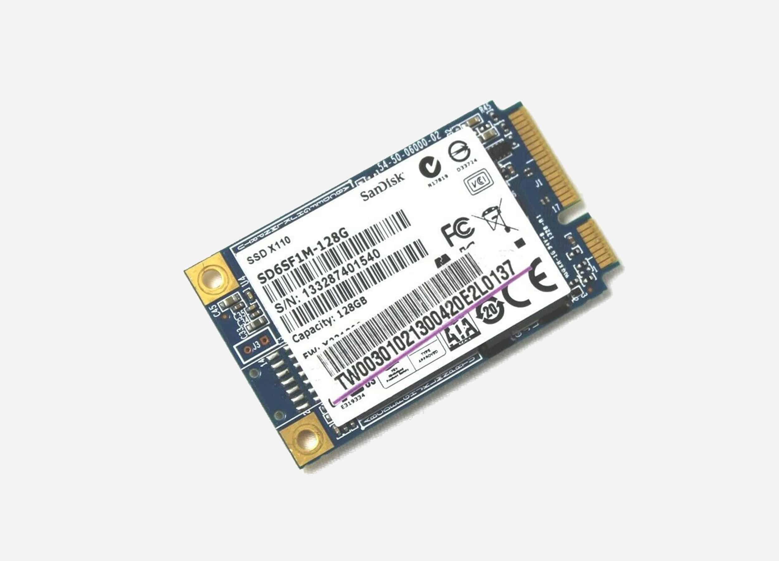 sandisk x110 msata 128gb