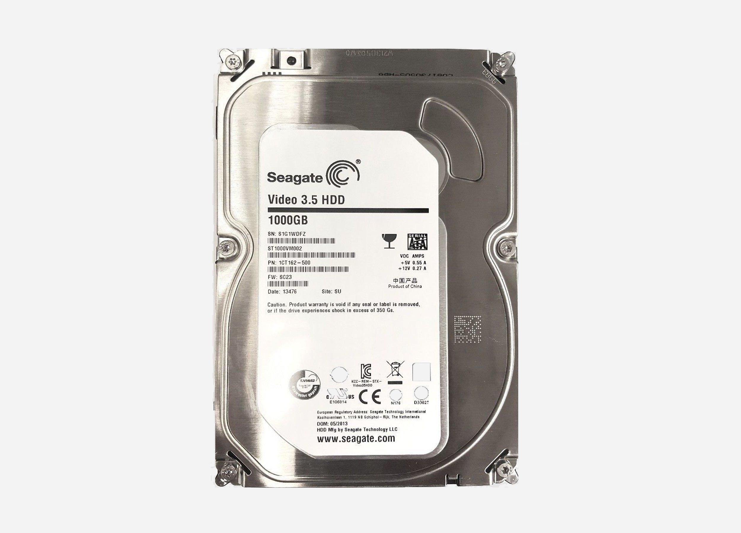 seagate 1TB Hdd