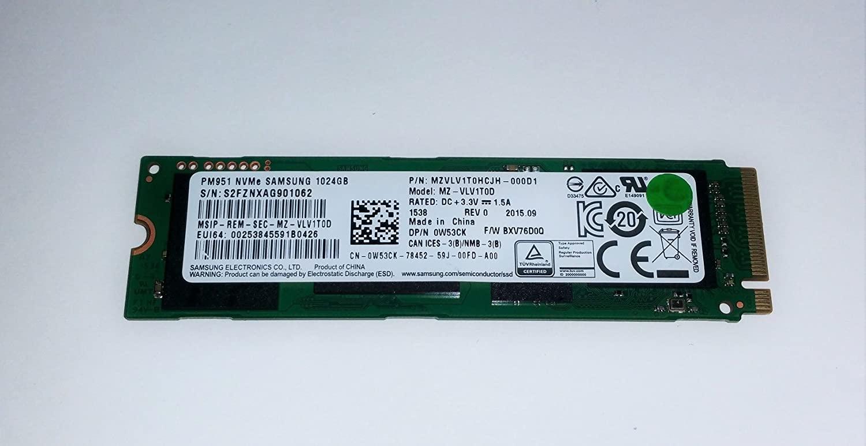 Samsung PM951 1TB NVMe