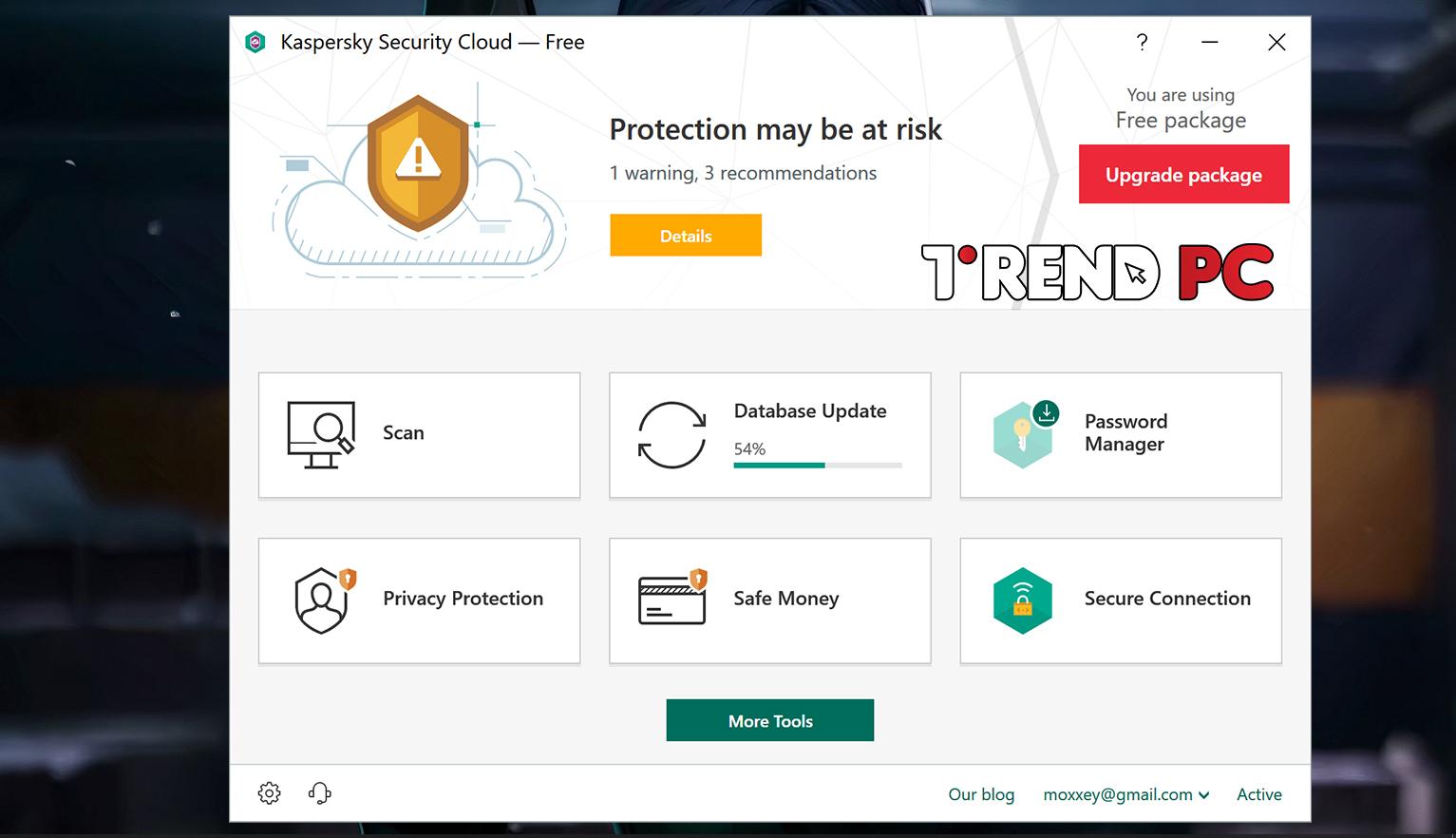 برنامج Kaspersky Security Cloud Free