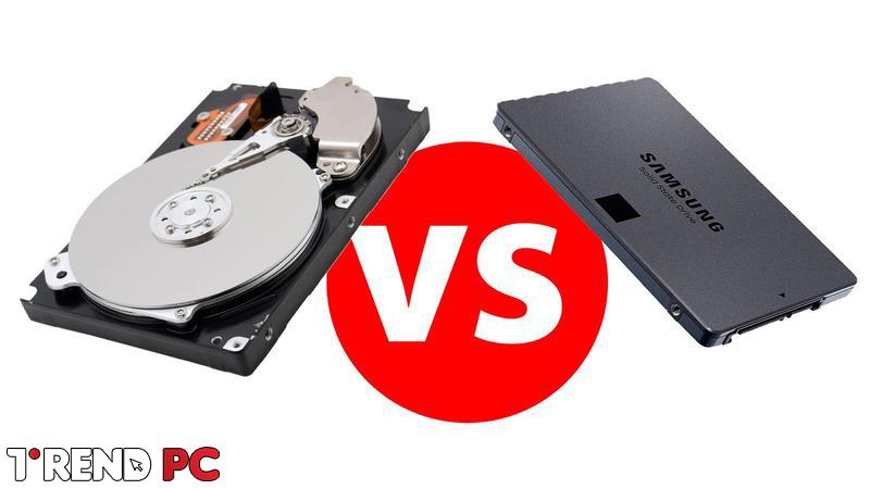 تخزين SSD أو HDD